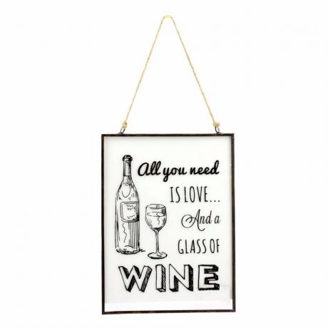 Klaasist silt 'Wine'