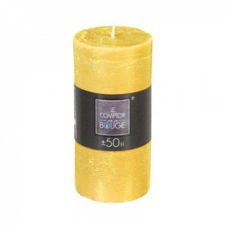 Küünal 'Rustic' 14cm kollane