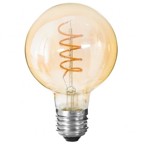 LED pirn 'Spiral' E27 D9,5cm