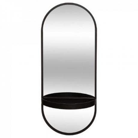 Riiuliga peegel 'Alex' must 75x30