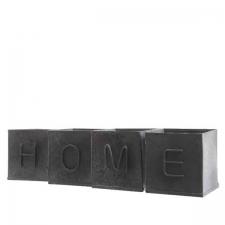Lillepotid 'HOME' komplekt