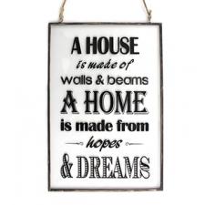 Klaasist silt 'House & Home'
