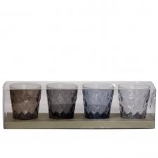 Komplekt küünlajalad 'Cristal' 4tk