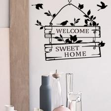 Seinakleebis 'Home'