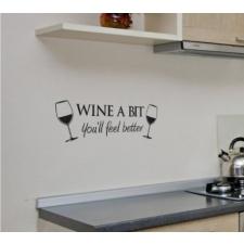 Seinakleebis 'Wine'