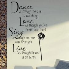 Seinakleebis 'Dance'