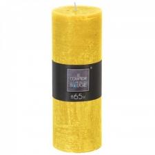 Küünal 'Rustic' 19cm kollane