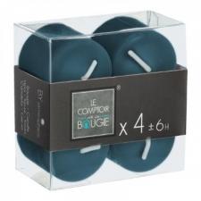 Küünalde komplekt 4tk sinine