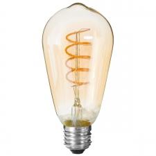 LED pirn 'Spiral' E27 D6,4cm
