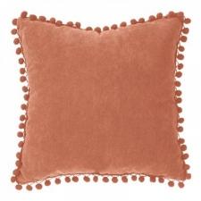 Padi 'Pompons' 40x40 terracotta roosa