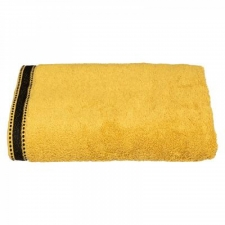 Puuvillane vannirätik 'Joia' 70x130cm kollane