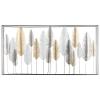 Suur metallist seina dekoratsioon 'Feather'