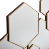 Peegel 'Lila' kuldne 62x38cm