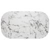 Söögilaud 'Roxas' 160x90 must - marble