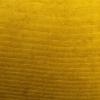 Hoiukastiga järi 'Pouffe Velvet' kollane