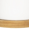 Lillepottide komplekt 'Bamboo' 2tk valge