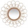 Peegel rotangist 'Rattan' d56 beež